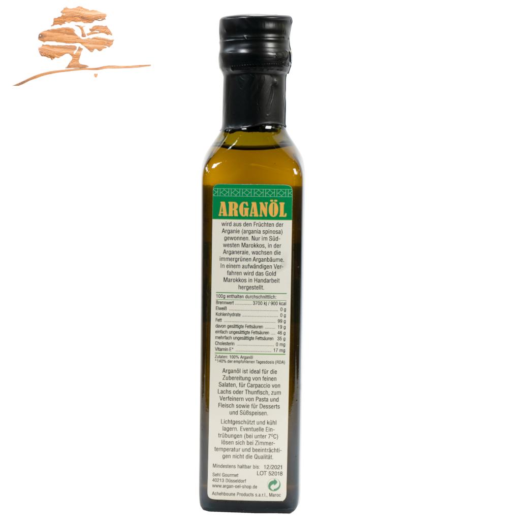 Original Argan Speiseöl, 100 %  reine Qualität, 250 ml