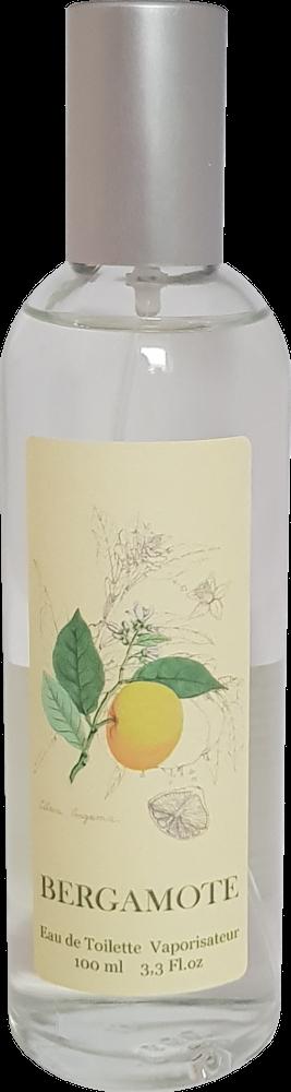 Eau de Toilette Bergamotte mit pflanzlichen Duftstoffen, 100ml