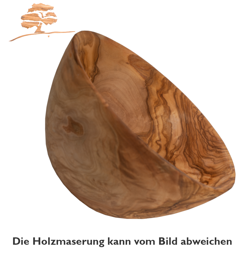 Olivenholz Schale / Obstschale / Salatschale  aus Olivenholz