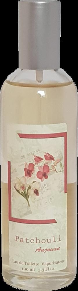 Eau de Toilette Patchouli Vanille (Anjouan) mit pflanzlichen Duftstoffen, 100ml