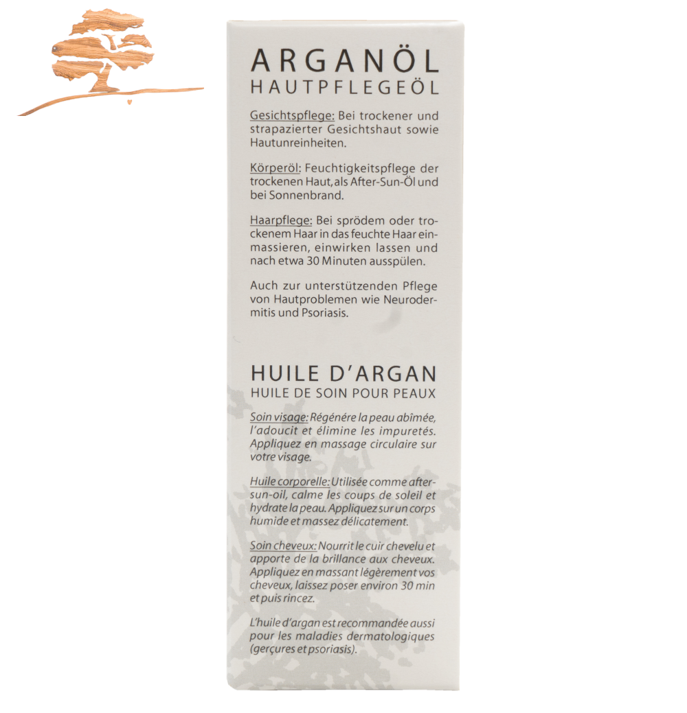 Argan-Hautpflegeöl, 50 ml